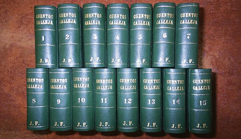 """Colección completa """"Cuentos de Calleja"""" (300 cuentos)"""